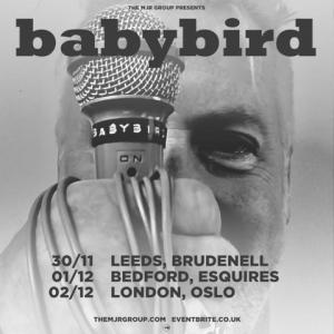 Babybird 2018 tour