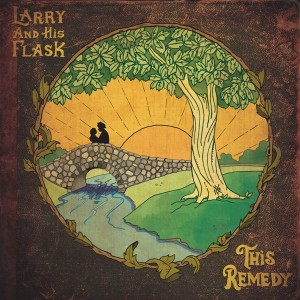 Larry And His Flask - The Remedy sleeve - web