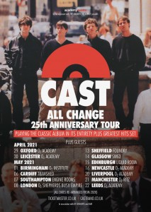 CAST ALL CHANGE TOUR POSTER 2021