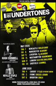 The Undertones Tour Poster